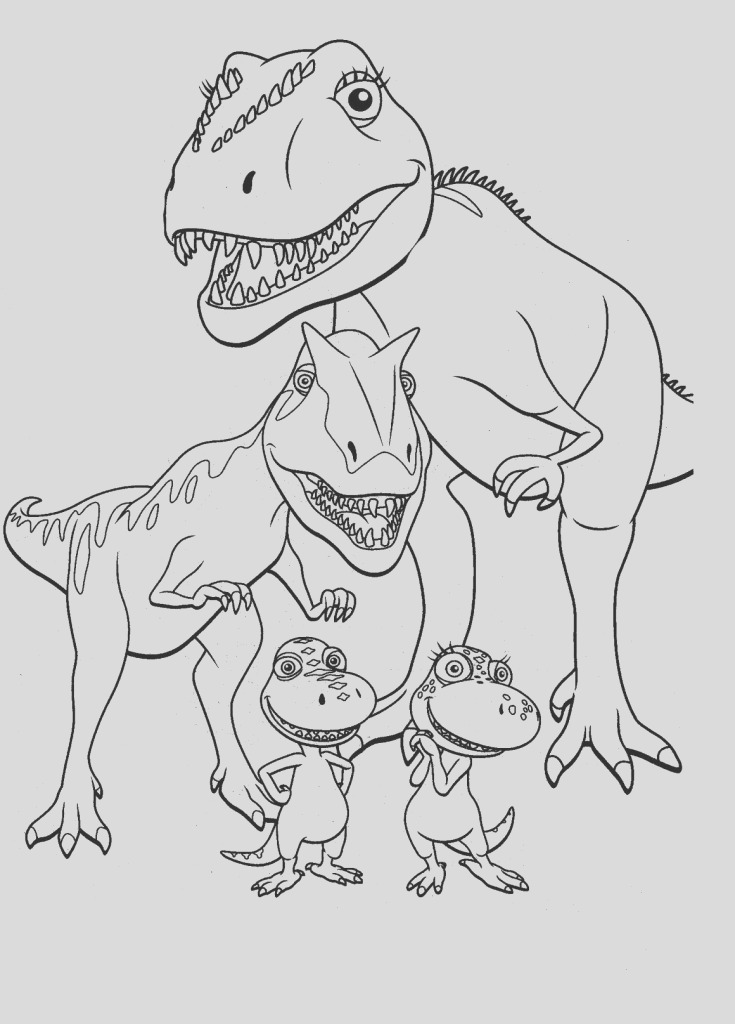 dinosaurs coloring pages photo