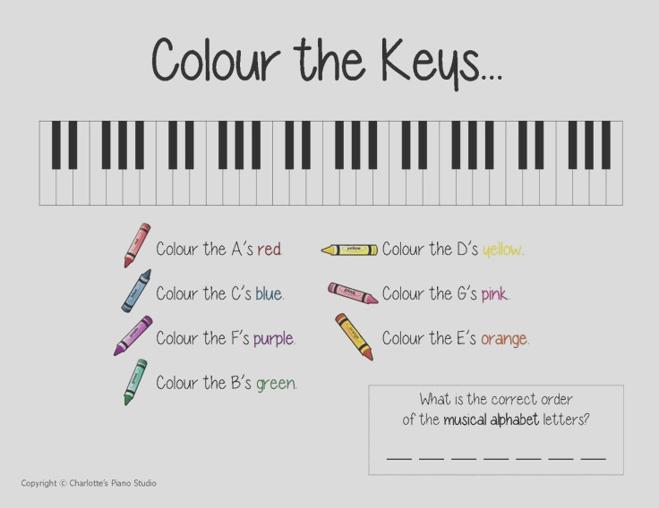 music theory games coloring sheets