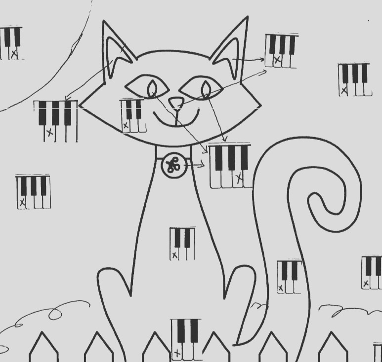 free music theory coloring worksheet 2 versions