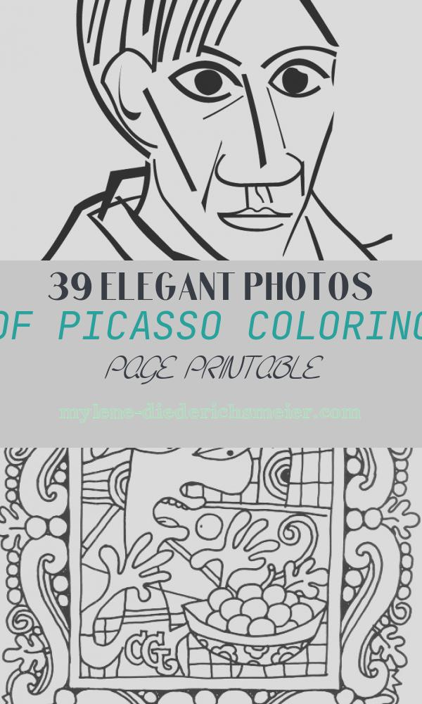 Picasso Coloring Page Printable Awesome Pablo Picasso Freebies