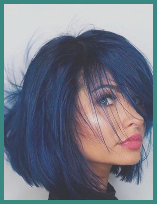 blue hair coloring