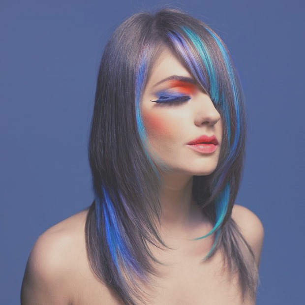 how to dye hair with food coloring