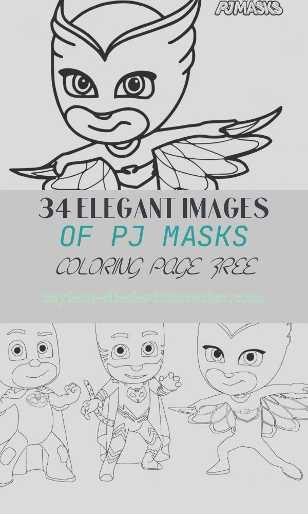 Pj Masks Coloring Page Free Beautiful Pj Masks Coloring Pages to and Print for Free