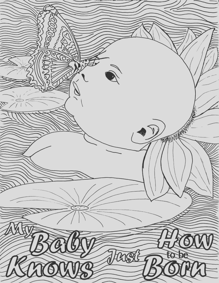 birth pregnancy coloring pages