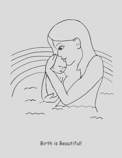 free pregnancy coloring book for kids