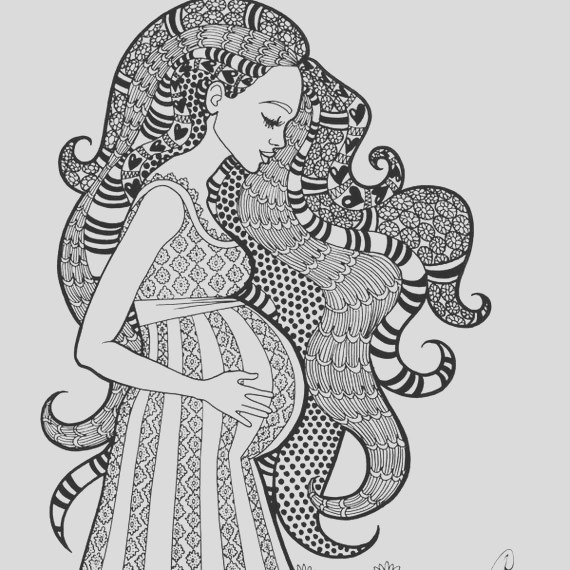 a sweet expectation coloring page