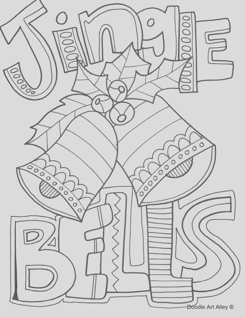 and print free christmas colouring pages