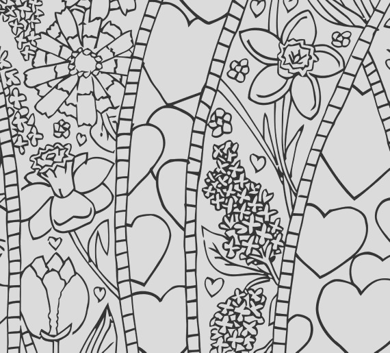 adult coloring page love printable line