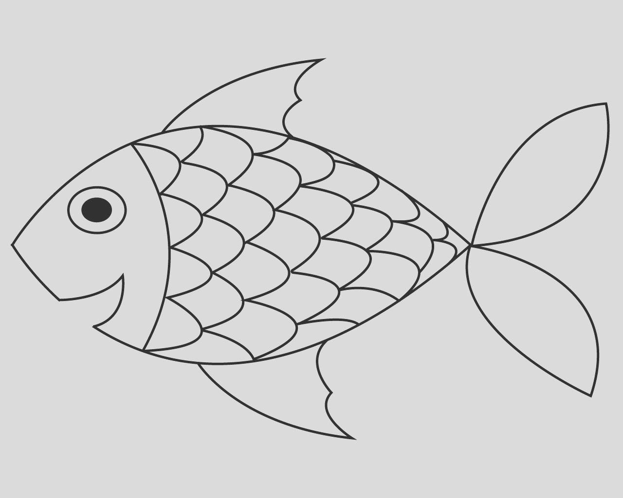 free printable fish coloring pages for your lovely toddlers