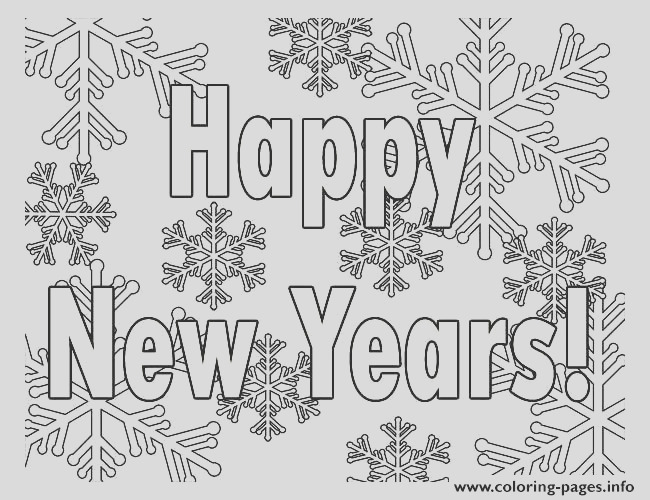 printable new years printable coloring pages book