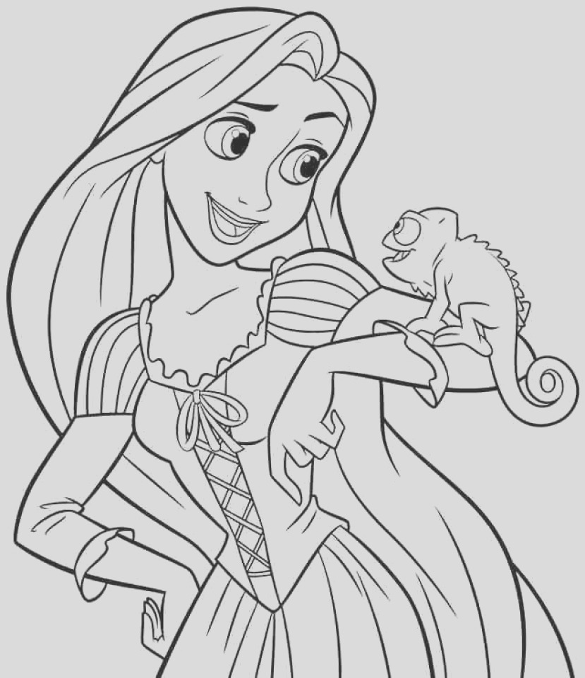 printable disney princess coloring pages online