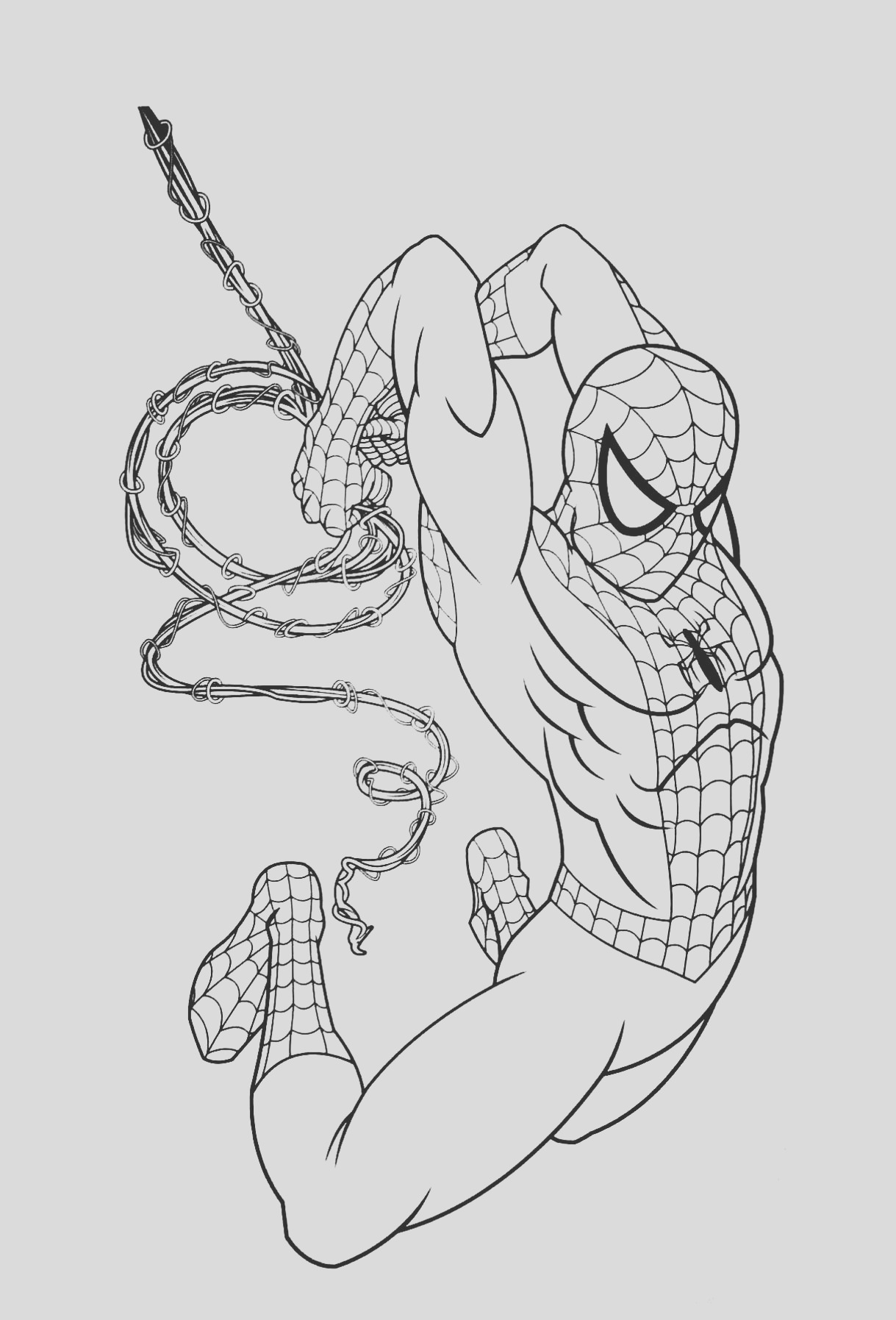 image=spiderman Coloring for kids spiderman 1