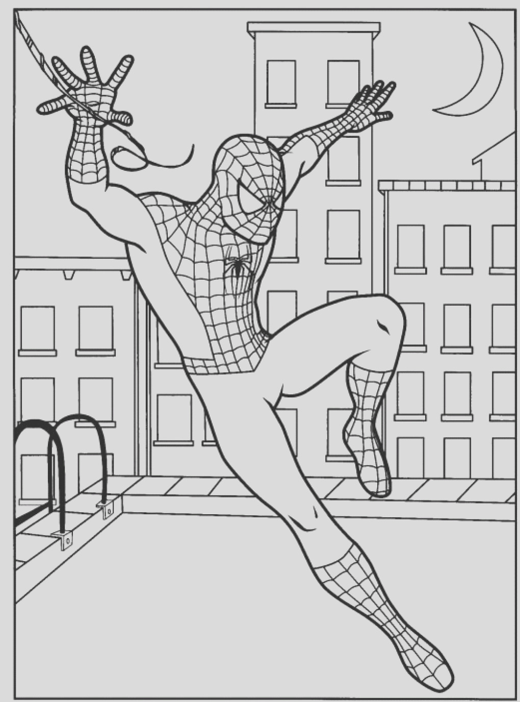 coloring pages of spiderman spiderman coloring page free printable sheets for kids