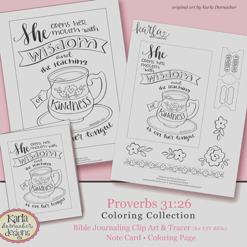 mothers day proverbs 3126 bible journaling printable coloring collection