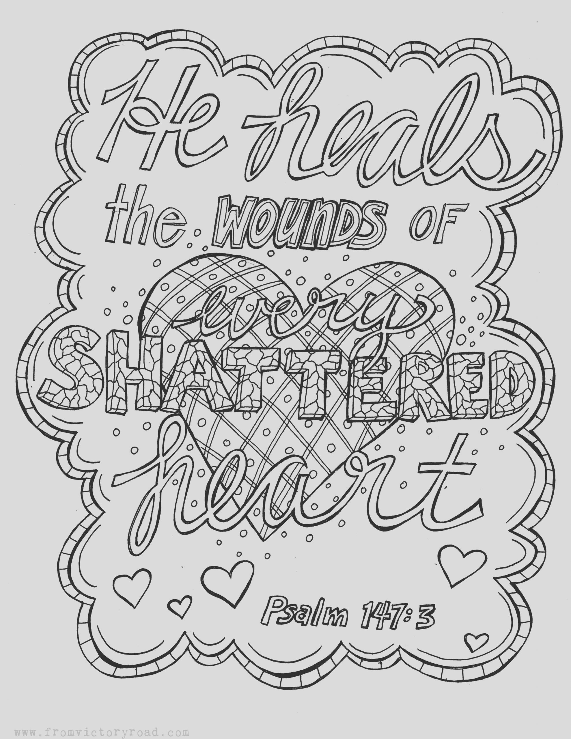 psalm 1473 coloring page