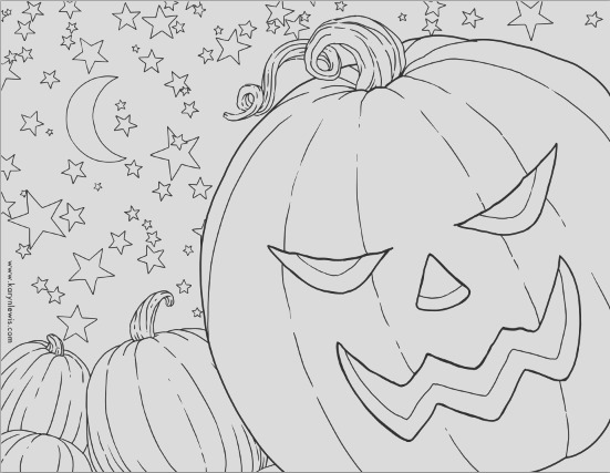free pumpkin patch halloween coloring page