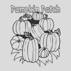 pumpkin patch coloring pages your toddler will love to do