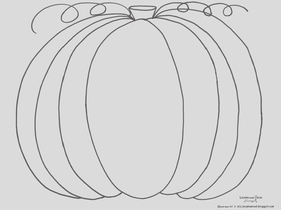 how to draw pumpkin tutorial and free