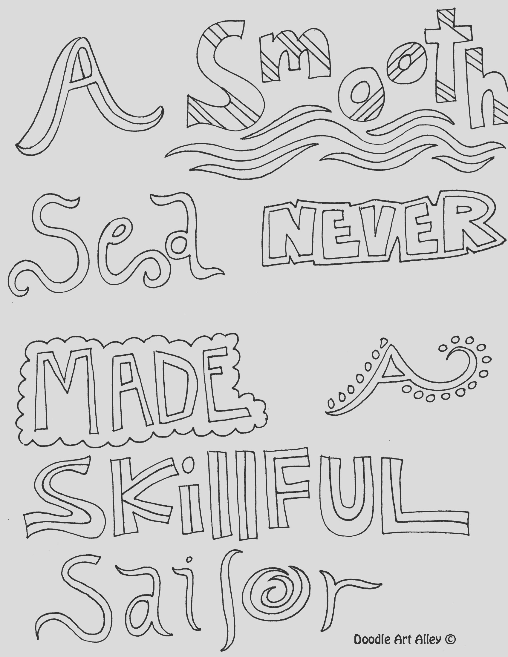 coloring pages quotes about life