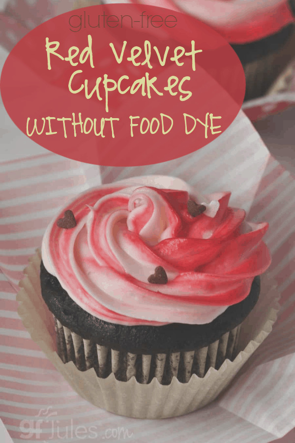 gluten free red velvet cupcakes without food dye