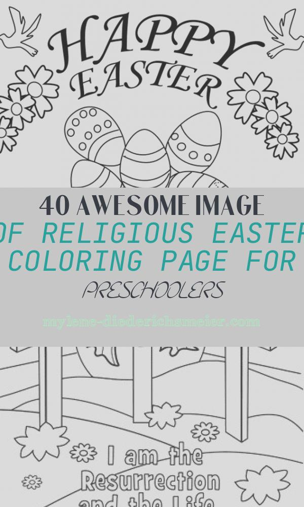 Religious Easter Coloring Page for Preschoolers Fresh New Printable Easter Coloring Pages Religious for