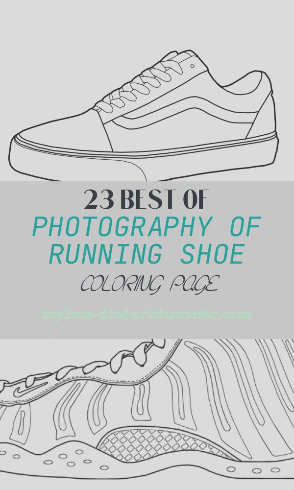Running Shoe Coloring Page Awesome Jordan Shoes Coloring Pages