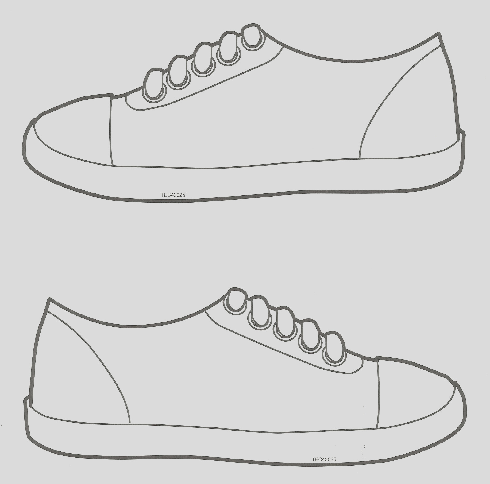 sneakers shoes coloring coloring