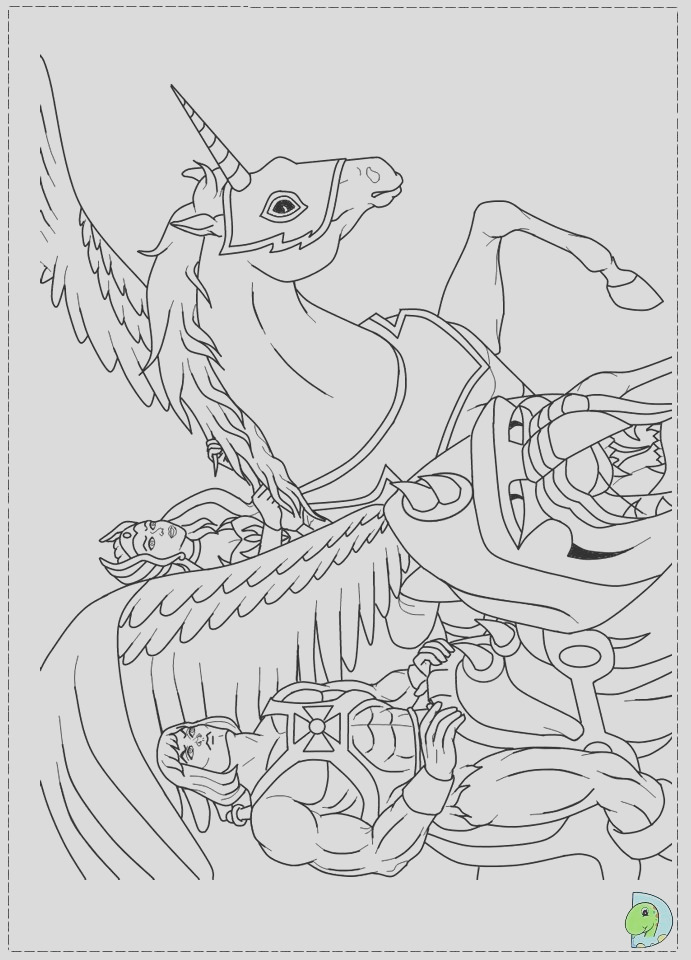 she ra coloring pages