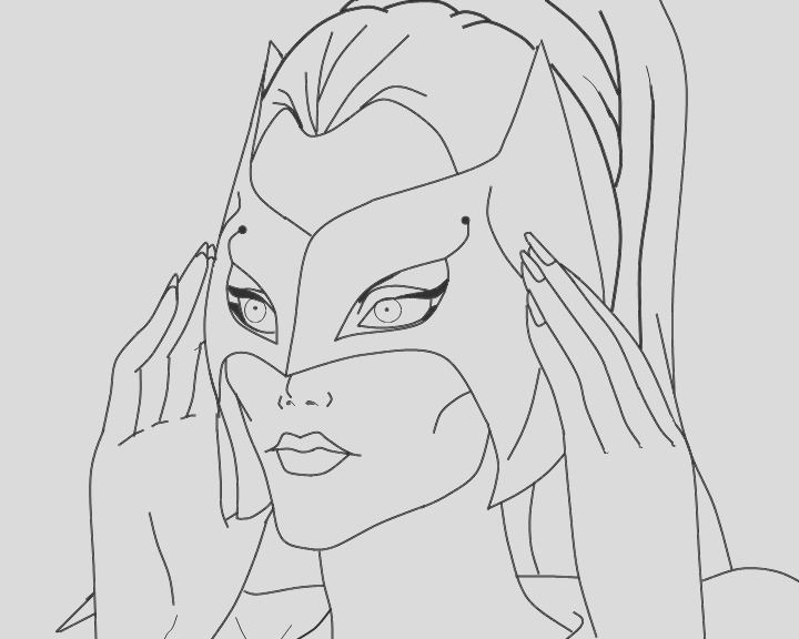 he man and she ra coloring pages