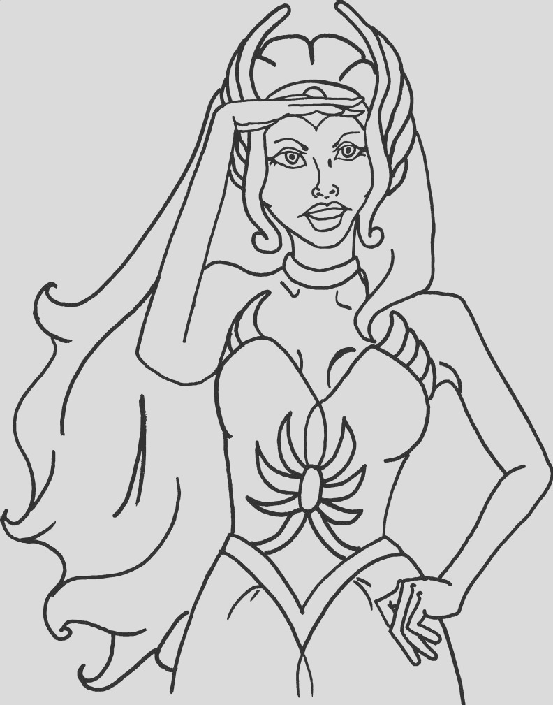 She Ra Coloring Page