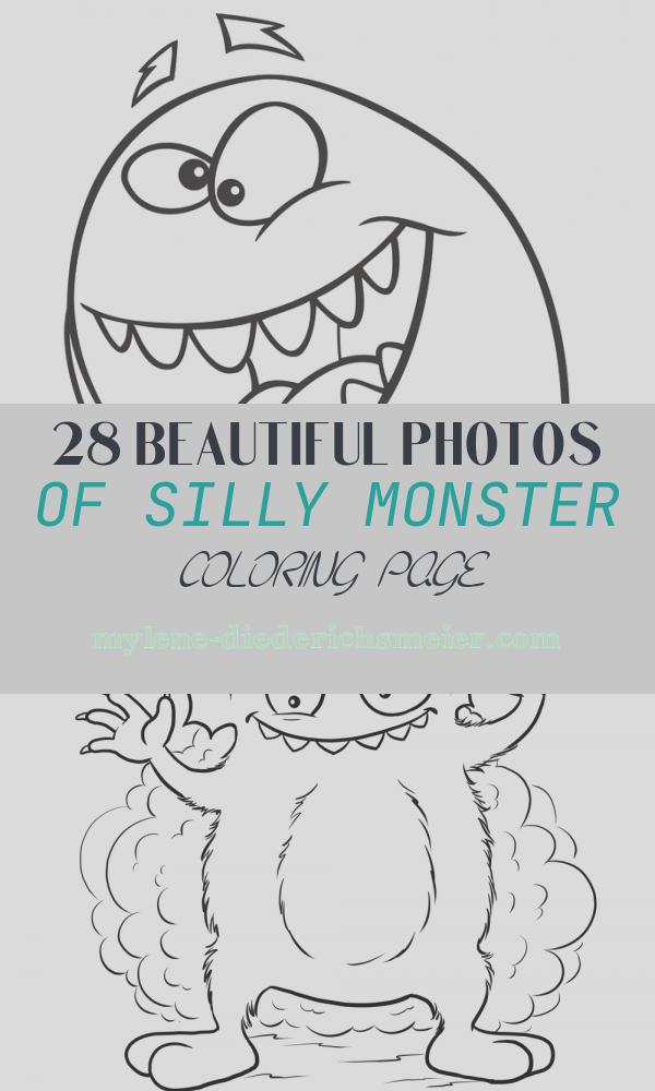 Silly Monster Coloring Page Unique Silly Monster Coloring Page Twisty Noodle