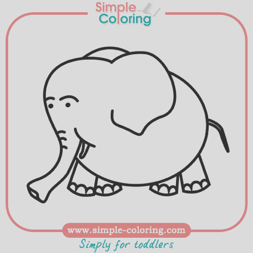 simple coloring animals