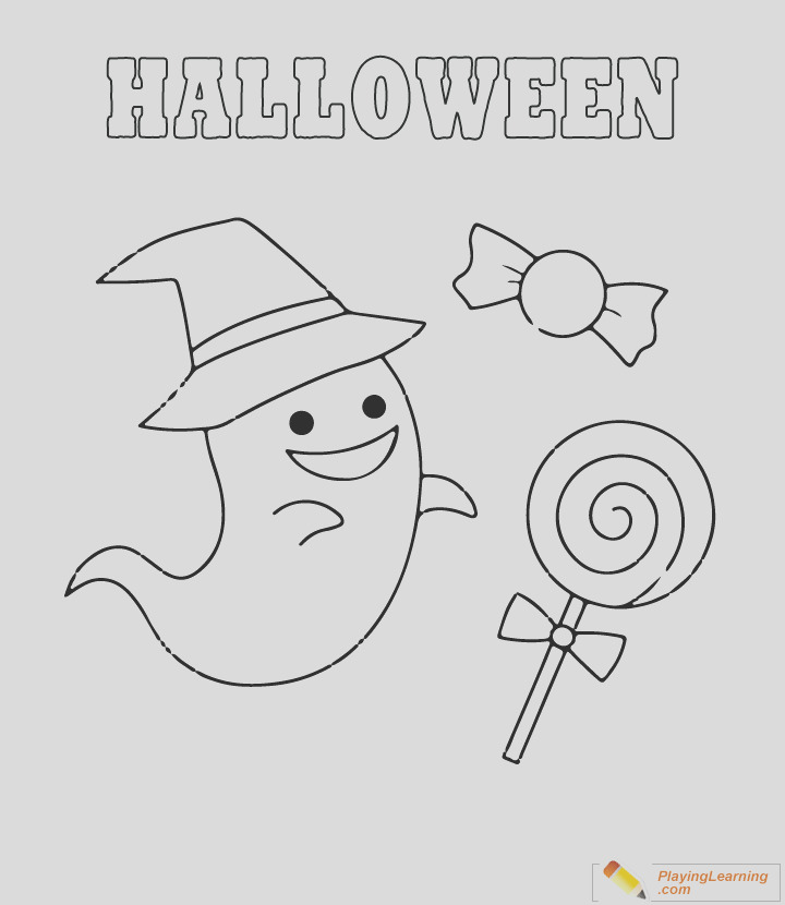 coloring sheet i=easy halloween coloring page 14