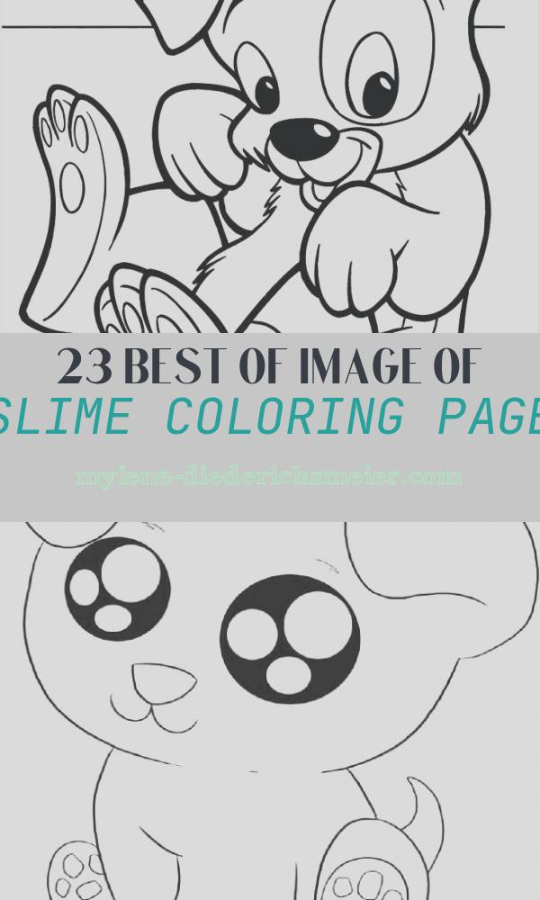 Slime Coloring Page Beautiful Slime Coloring Pages at Getcolorings