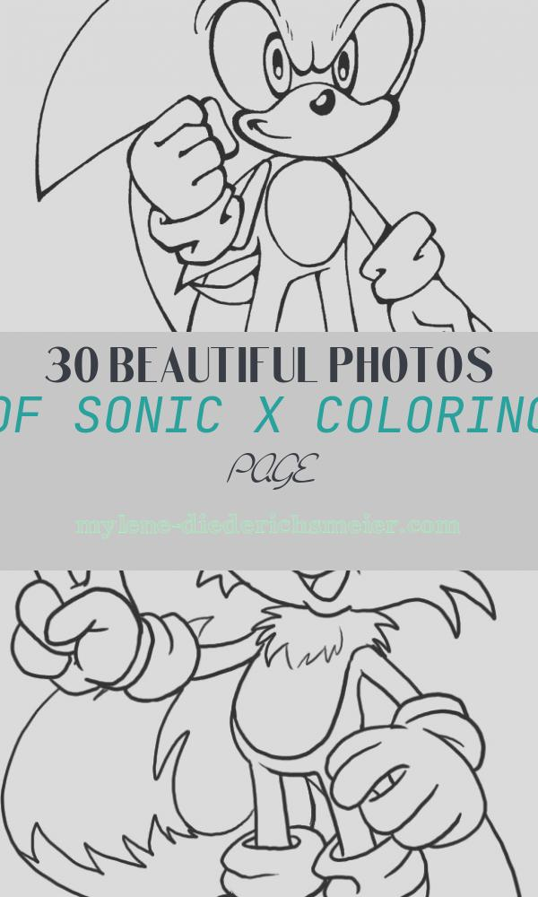 Sonic X Coloring Page Beautiful Free Printable sonic the Hedgehog Coloring Pages for Kids