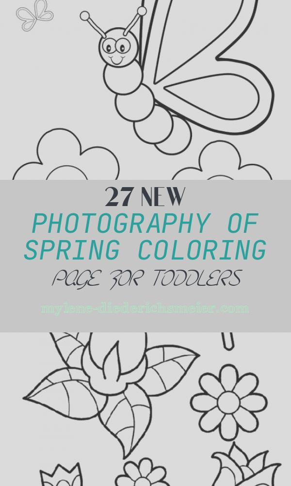 Spring Coloring Page for toddlers Fresh top 35 Free Printable Spring Coloring Pages Line