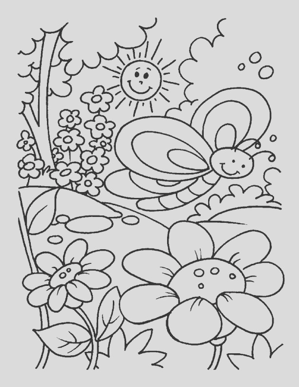 spring time coloring pages 1d1754