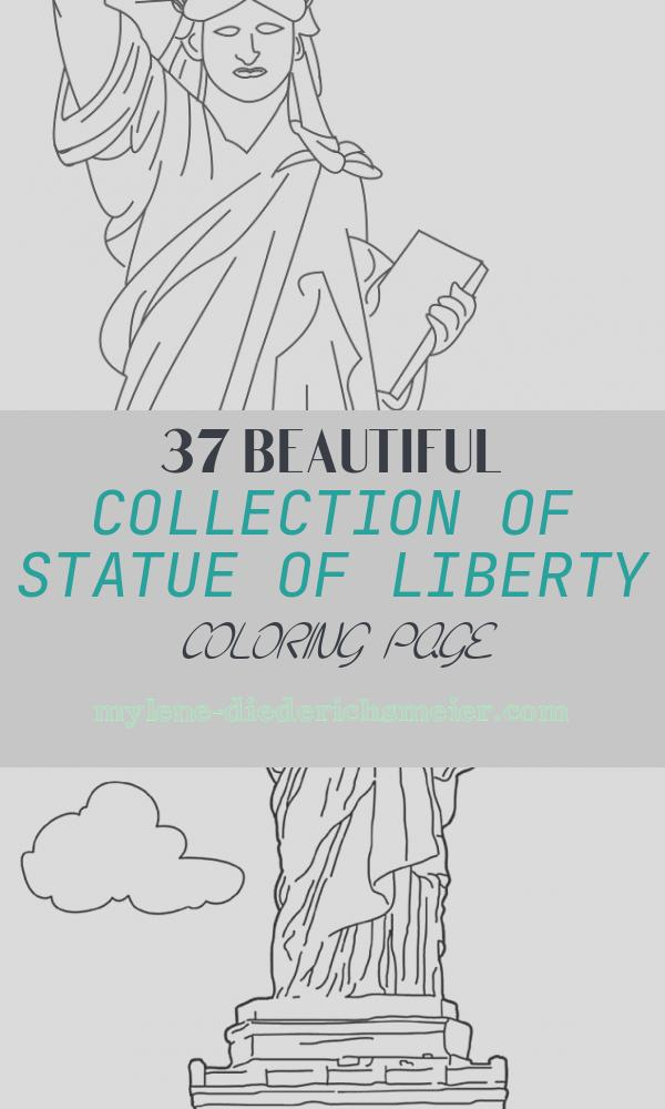 Statue Of Liberty Coloring Page Fresh Statue Of Liberty Printable Coloring Page for Kids