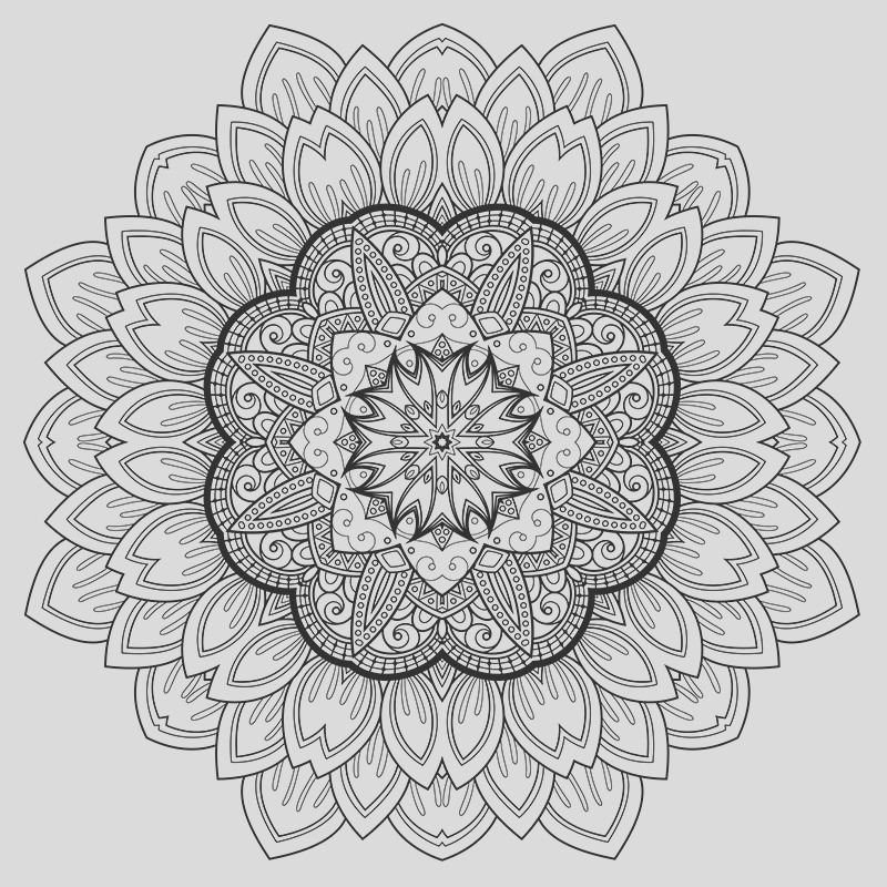 free able stress relief coloring art