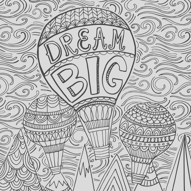 free grayscale coloring pages