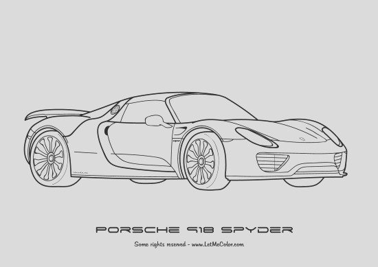 coloring supercars