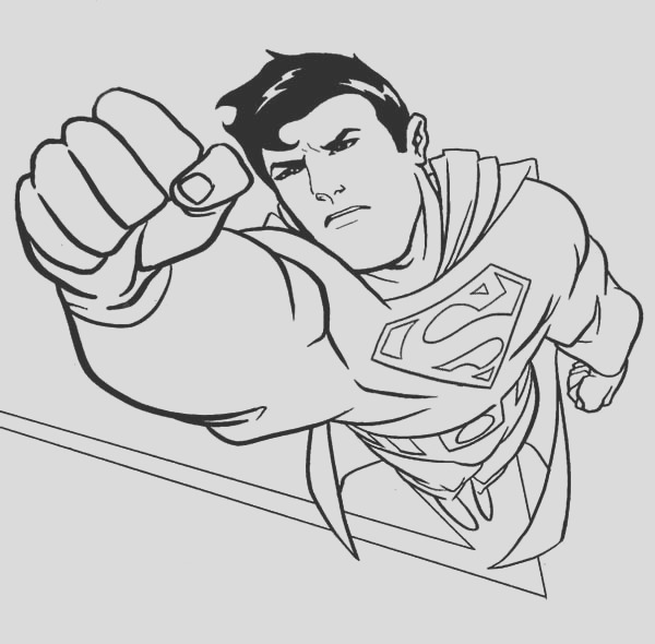superman coloring pages 2064