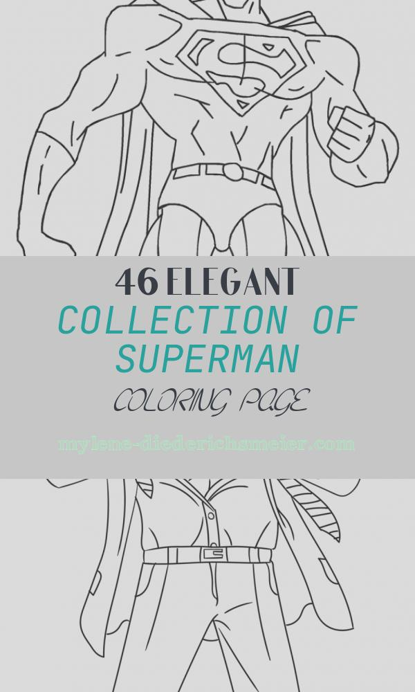 Superman Coloring Page Lovely Free Printable Superman Coloring Pages for Kids