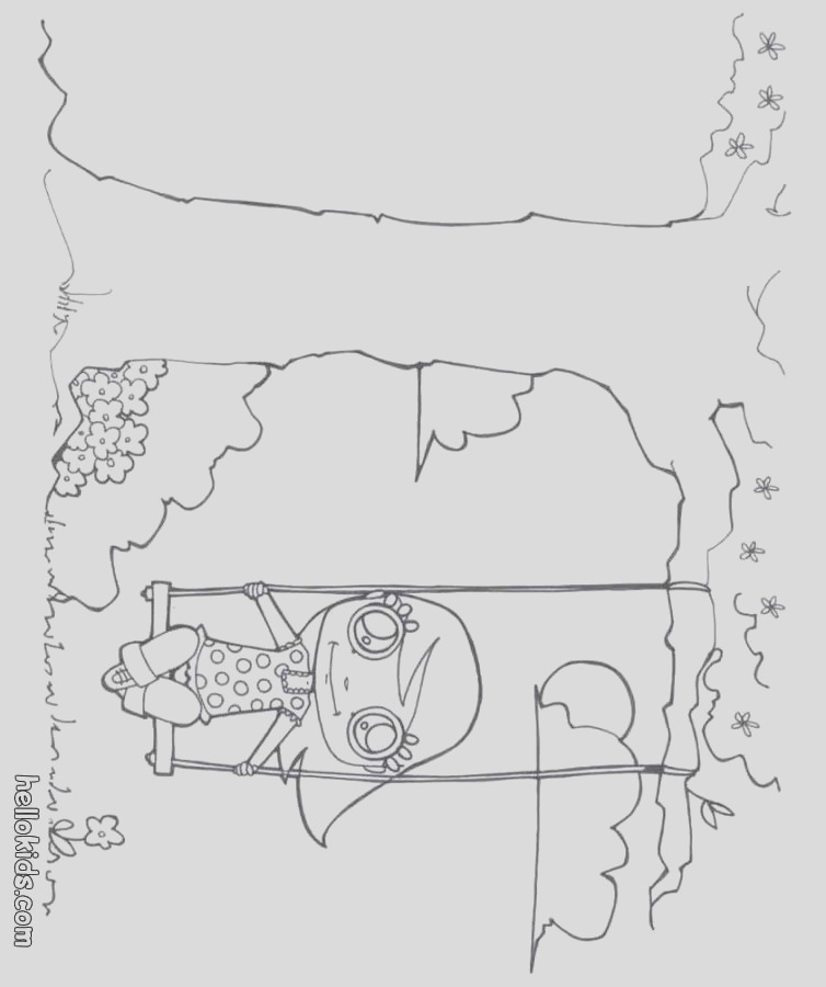 swing coloring page