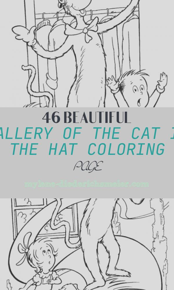 The Cat In the Hat Coloring Page New Fun Coloring Pages Cat In the Hat Coloring Pages Dr Seuss