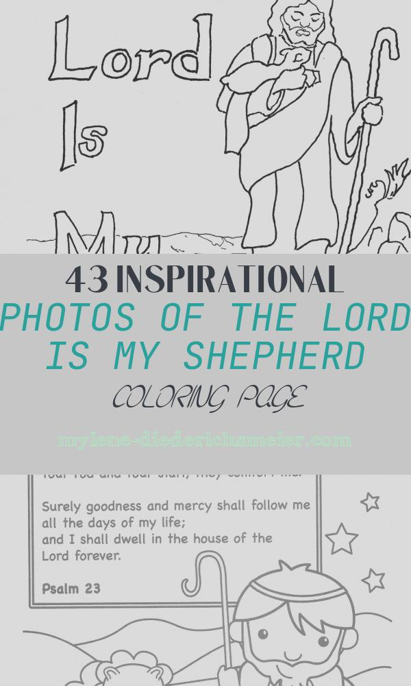The Lord is My Shepherd Coloring Page Fresh Coloring Pages for Kids by Mr Adron the Lord is My
