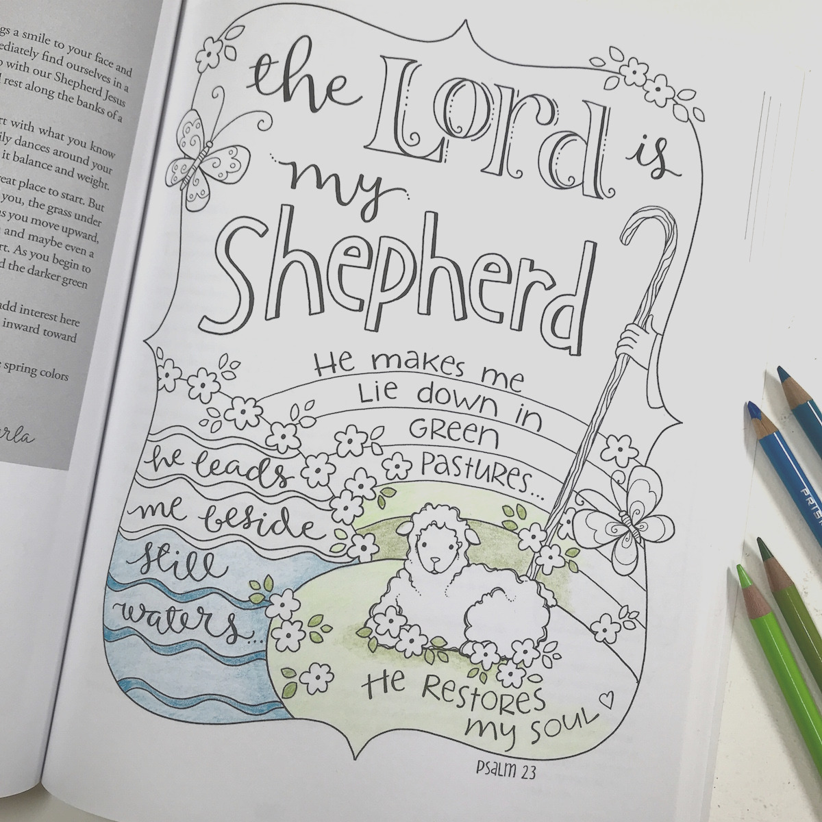 ch 4 psalm 23 simple steps to choosing a color palette