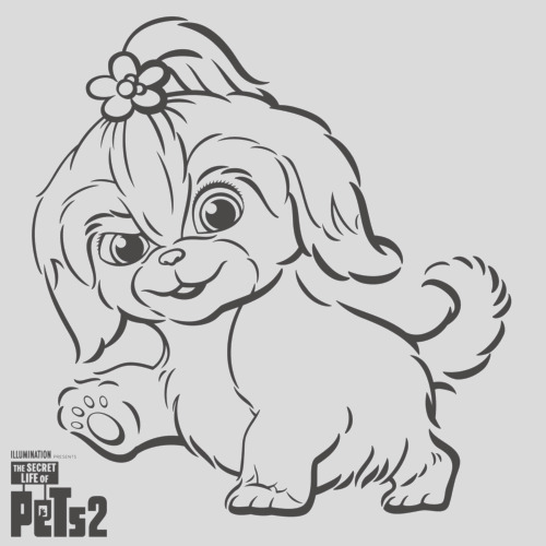 the secret life of pets 2 coloring pages