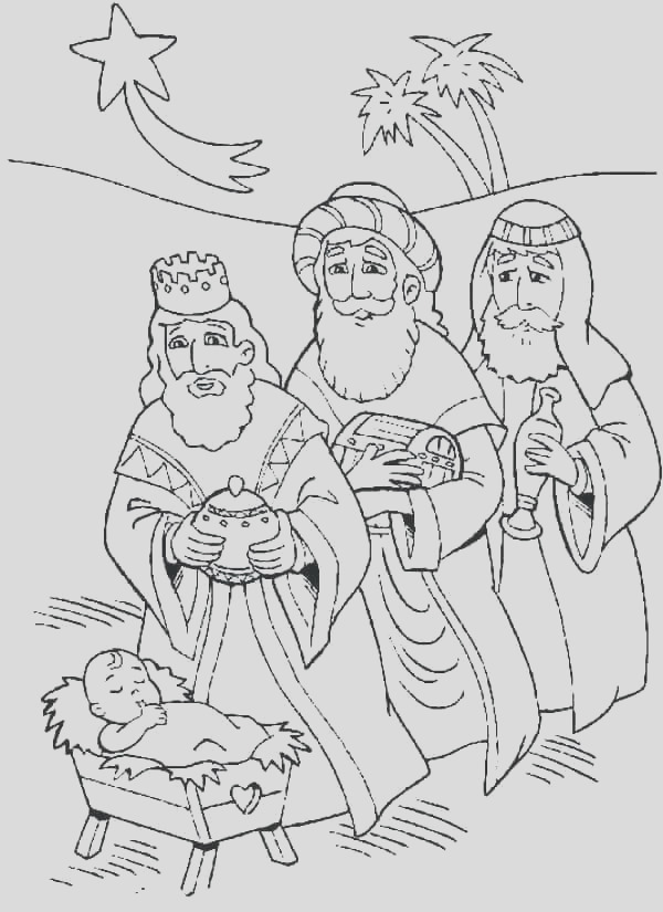 christmas advent coloring pages
