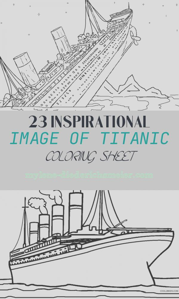Titanic Coloring Sheet Elegant Printable Titanic Coloring Pages for Kids